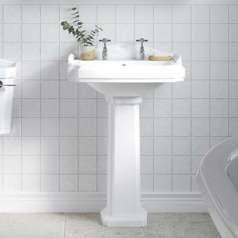 Park Lane Legend Full Pedestal Bathroom Sink