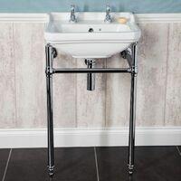 Park Lane Windsor Bathroom Sink and Wash Stand 500mm