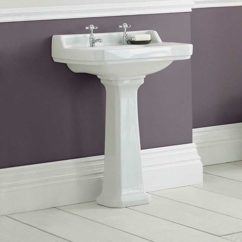 Park Lane Windsor Full Pedestal Bathroom Sink Pwni00885