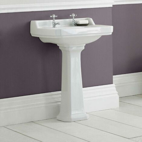 Park Lane Windsor Full Pedestal Bathroom Sink