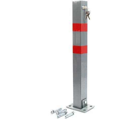 Parking Barrier Folding Car Park Bollard Security Driveway Post Lockable  Square