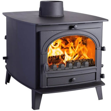 Parkray Consort 7 Double Sided Double Depth Multifuel Stove