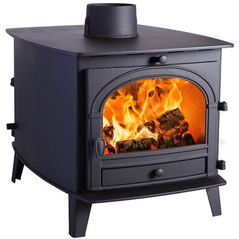 Parkray Consort 7 Double Sided Double Depth Wood Stove