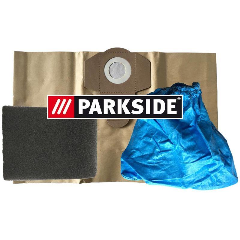 10 Sac d/'aspirateur Parkside PNTS 1300 B2 1300B2 Sac à filtre IAN 69502 LIDL