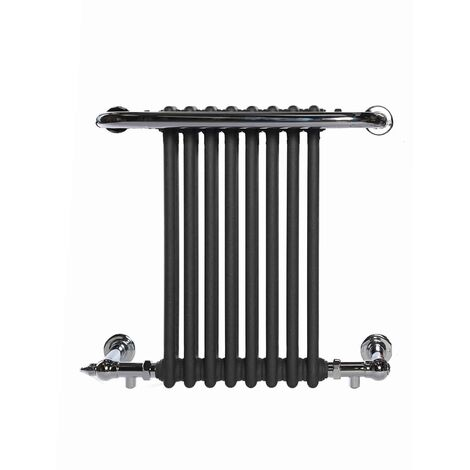 PARLIAMENT ELEMENTS - Traditional Victorian Heated Towel Rail - Central Heating