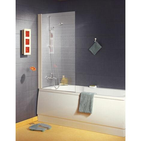 Paroi de baignoire Ancoswing 1 volet - verre sérigraphié - L800 - H 1,40m