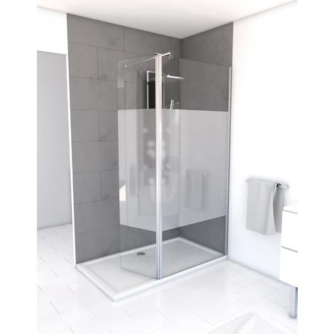 paroi de douche l 39 italienne freedom depoli pivot 90. Black Bedroom Furniture Sets. Home Design Ideas