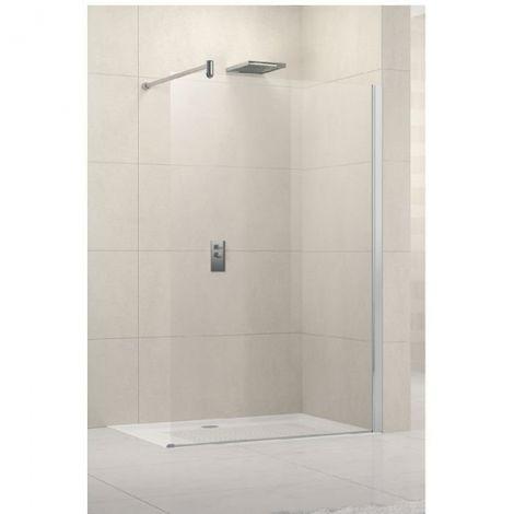 Paroi de douche fixe verre - Lunes H - Novellini