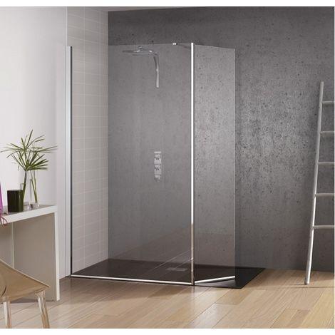 paroi de douche fixe volet pivotant kinespace duo 70 45. Black Bedroom Furniture Sets. Home Design Ideas