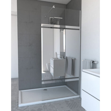 paroi de douche l 39 italienne freedom 2 miroir 90. Black Bedroom Furniture Sets. Home Design Ideas