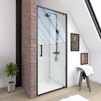 Paroi de douche - Porte de douche avec paroi fixe ...