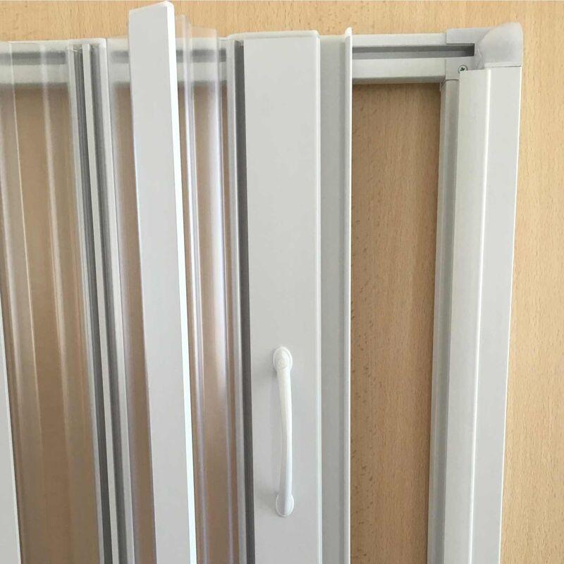 Paroi douche 60 CM H185 en Plastique pvc mod/èle Aura avec l/'ouverture lat/érale