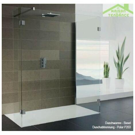 Parois de bain RIHO WALK IN DOUCHE POLAR P203 en verre clair
