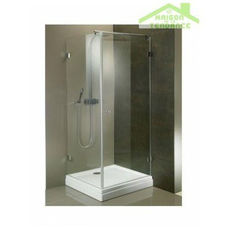 Parois de douche universelle RIHO SCANDIC MISTRAL M201 en verre clair