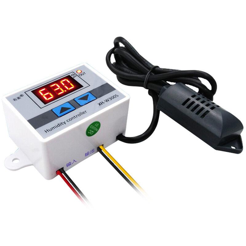 Asupermall parola digitale di controllo regolatore di umidita XH W3005 Misuratore di umidita Controllo um