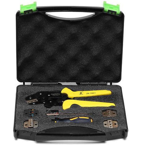 PARON Kit JX-D5 Pliers Crimping Crimping Lug Ratchet Ratchet Tool Cable stripping Multifunctional Terminals