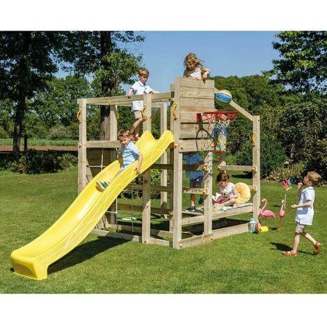 Parque Infantil Crossfit Con Tobogán Masgames