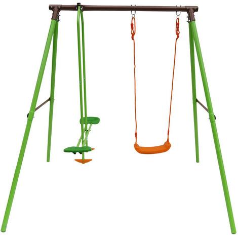 Parque infantil de acero Lola - 2 soportes - 1.95m