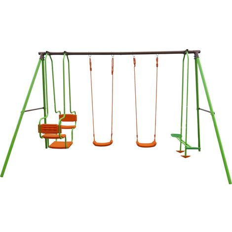 Parque Infantil de acero Mano - 1,96m - 4 soportes
