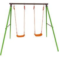 Parque infantil de acero Polo - 2 soportes - 1.95m