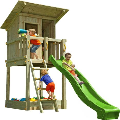 Parque infantil Masgames Beach Hut (altura tobogán 120 cm)