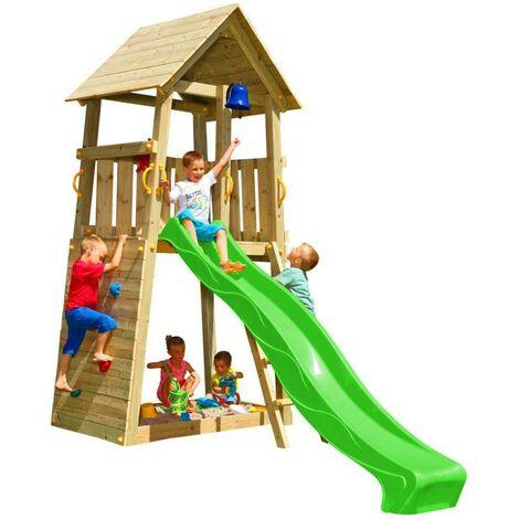 Parque infantil Masgames Belvedere L (altura tobogán 120 cm)