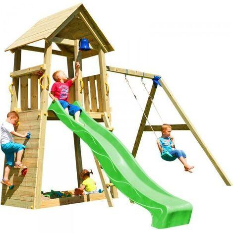 Parque infantil Masgames Belvedere L con columpio doble