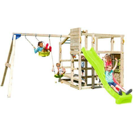 Parque infantil Masgames Crossfit con columpio doble