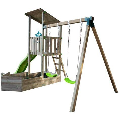 Parque infantil Masgames NAUTILUS con columpio doble