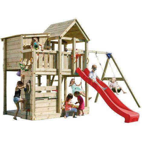 Parque infantil Masgames Palazzo XL con columpio doble