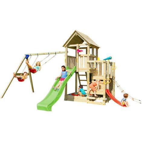 Parque infantil Masgames Penthouse XL con columpio doble