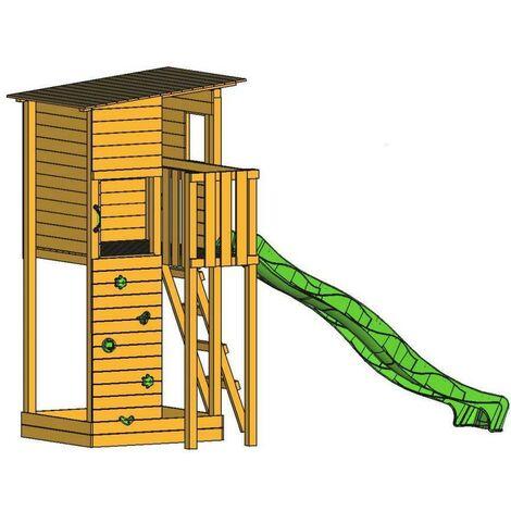 Parque Infantil Masgames TAGA L con pared de escalera