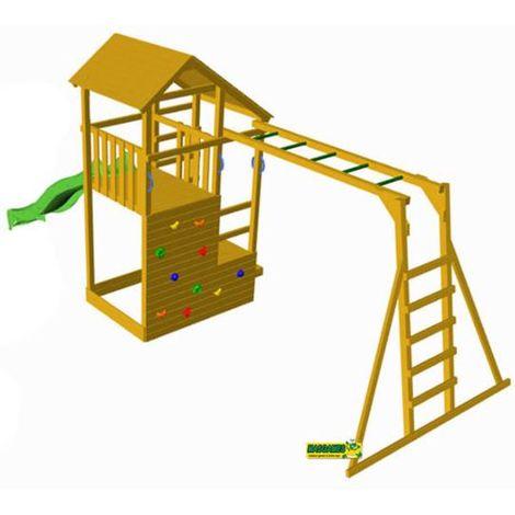 Parque Infantil MASGAMES TEIDE con escalera de mono