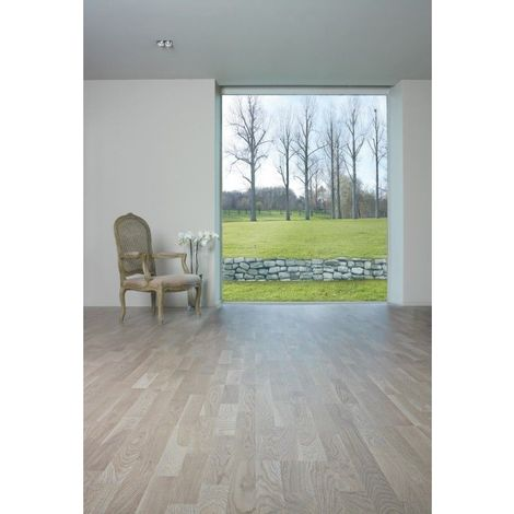 Parquet Contrecoll� BerryAlloc Ecoforest Ch�ne Country Gris Perle Bross� Vernis Patine
