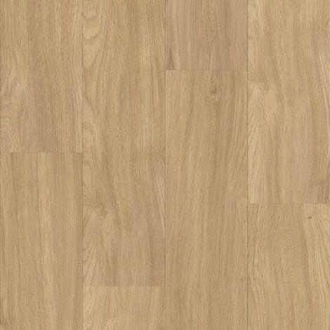 Parquet flottant Stratifié compatible cuisine salle de bain - Chêne Brun Indien - Paquet de 1,48m²