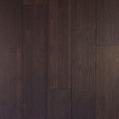Parquet Massif Bambou - Brossé - Façon Chêne Gris Vieilli - Compatible Pièces Humides - larg. 13,9 cm | 2.16 mètre carré