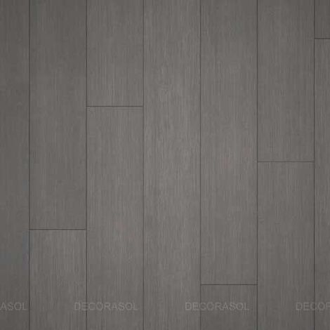 Parquet Massif Bambou - Brossé - Gris - Clipsable - Compatible Pièces Humides - larg. 13 cm | 2.50 mètre carré