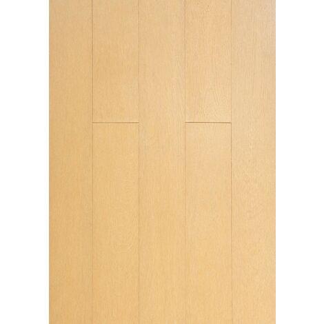 Parquet Massif Bambou Haute Pression - Façon Chêne Naturel - Compatible Pièces Humides - larg. 13 cm | 2.40 mètre carré