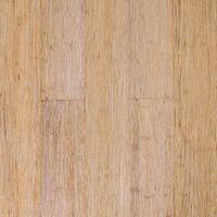 Parquet Massif Bambou Haute Pression - Verni Mat - Natural & White - Compatible Pièces Humides - larg. 12,5 cm   1.37 mètre carré