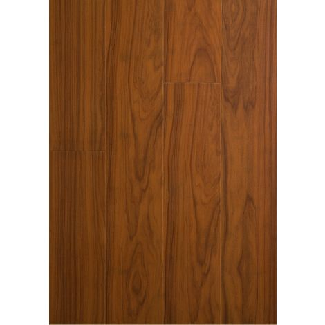 Parquet Massif Bambou Verni Mat Impression Teck Compatible