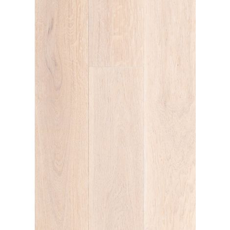 Parquet Massif Chêne - Ambassadeur - Blanc - huilé- larg. 18 cm | 1.80 mètre carré