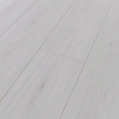 Parquet stratifié Kronotex Chêne Blanc Advanced 8mm D3201
