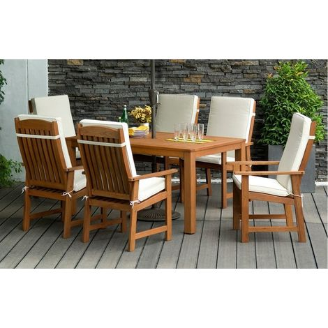 75fb75efac Parsons - Garden Dining Set - 6 Seats - PARSONS-6S