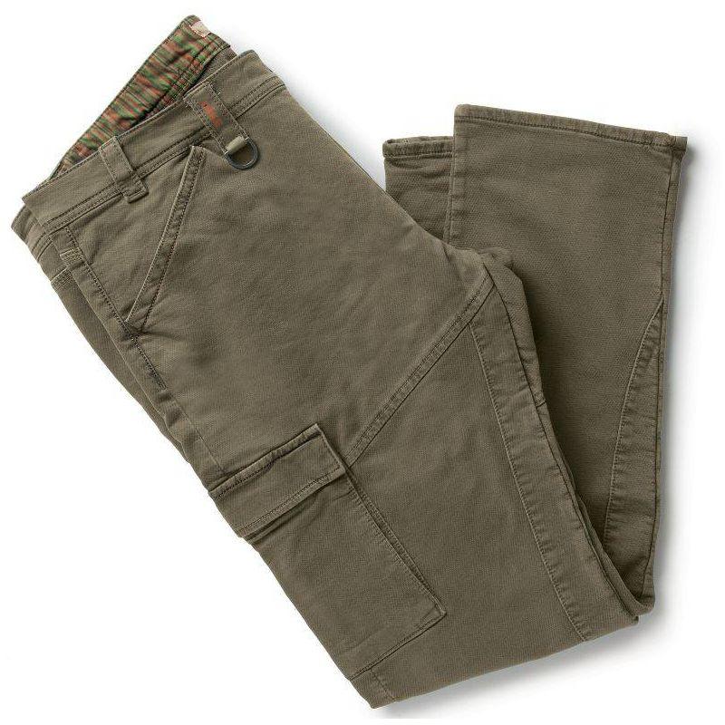PARTNER pantalon de travail coton Marron - T. S - DIKE