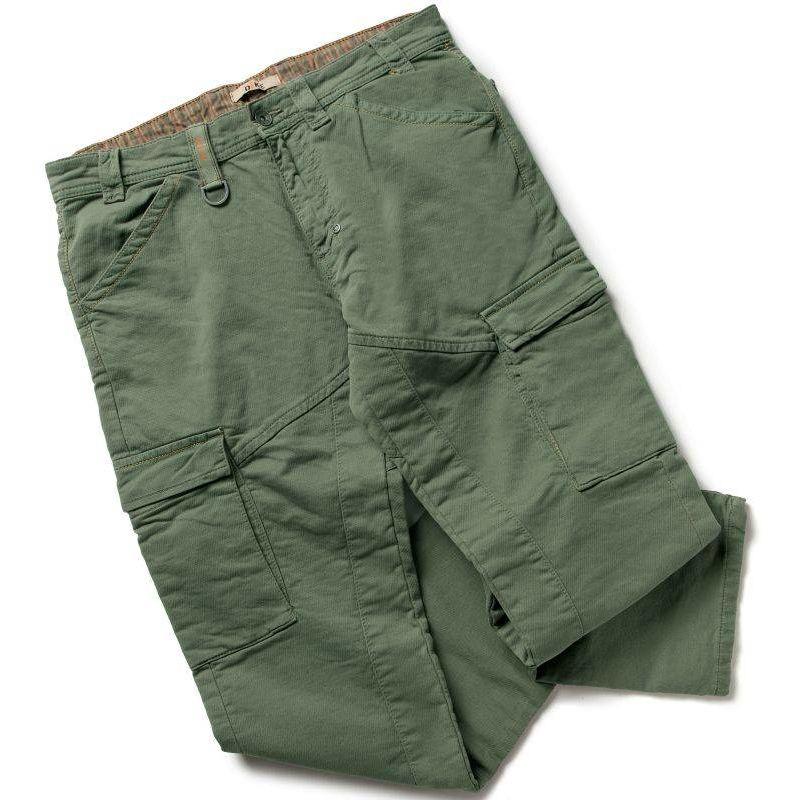 PARTNER pantalon de travail coton Vert - T. S - DIKE