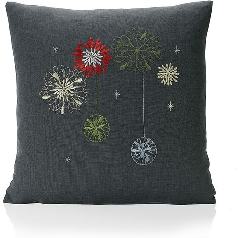 """Party Cushion Cover 18"""" Bed Sofa Accessory Unfilled"""