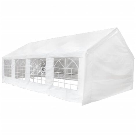 Party Marquee White 8x4 m