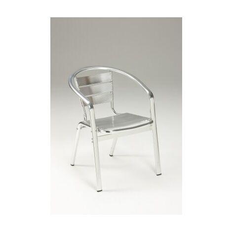 Party Stackable Aluminium Chair - Indoor/Outdoor