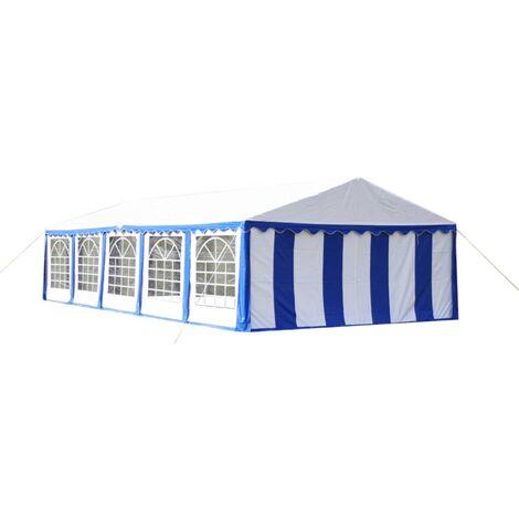 Party Tent 10 x 5 m Blue