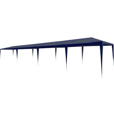 Party Tent 3x12 m PE Blue